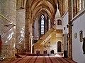 Famagusta - Gazimagusa Lala-Mustafa-Pasha-Moschee (Nikolauskathedrale) Innen Seitenschiff & Minbar 2.jpg