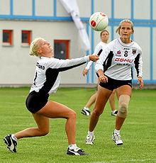 Faustball Frauen