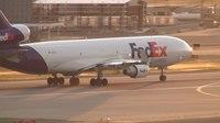 File:FedEx MD-11 (N621FE) Takeoff Portland Airport (PDX).ogv