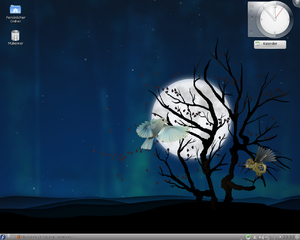 Fedora 15 mit KDE 4.6.3