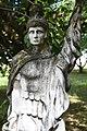 Felsőmocsolád, Szent Flórián-szobor 2021 03.jpg