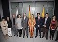 Fernández de la Vega se reúne con el presidente del Cabildo de Gran Canaria. Pool Moncloa. 3 de mayo de 2010.jpeg