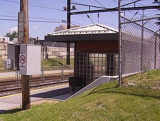 Fernwood–Yeadon station - Image: Fernwood Yeadon
