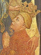 The coronation of Ferdinand I of Aragon
