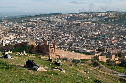 View of the medina (old city) of Fez. Fes (5364214781).jpg