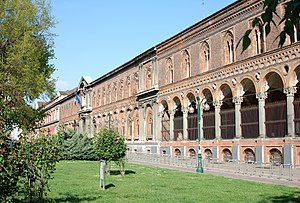 University of Milan - Via Festa del Perdono, the University of Milan