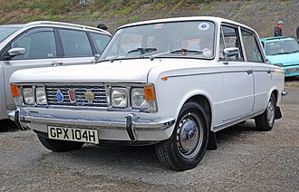 Fiat 125 - Fiat 125 in UK