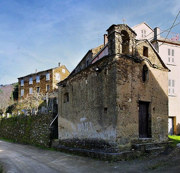 Ficaja - Chapelle San Roccu, de la fin du XVIe siècle (?)