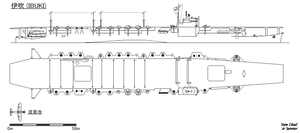 Fig of Japanese aircraft carrier Ibuki.png
