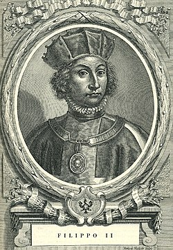 Image illustrative de l'article Philippe II de Savoie