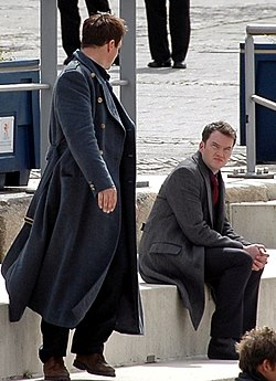 "Filming ""Torchwood"" in Cardiff (2, cropped).jpg"
