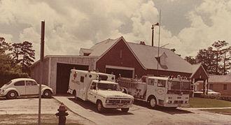 Third Ward, Houston - Fire Station 25, 1976