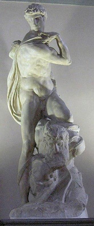 The Genius of Victory - Image: Firenze.Palvecchio.5 00.Michelangelo 2
