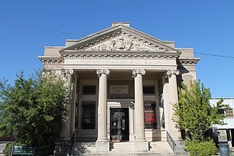 Washington County, Mississippi - Image: First National Bank Greenville