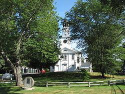 Primera parroquia en Wayland