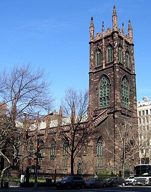 "Joseph C. Wells - ""Old First"" in Greenwich Village"