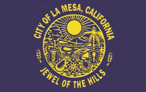 La Mesa, California - Image: Flag of La Mesa, California