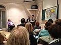 Flickr - Convergència Democràtica de Catalunya - Oriol Pujol i Joan B. Culla durant una xerrada col·loqui a l'associació cultural CETRES.jpg