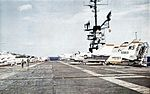 Flight deck of USS Lexington (CVA-16) c1962.jpg