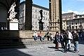 Florence, Italy, The Loggia dei Lanzi (Loggia della Signoria).jpg