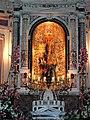 Fontanarosa (AV), Festa del Carro di Paglia 2003, altare.jpg