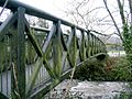 Footbridge to park in Garnant - geograph.org.uk - 337798.jpg