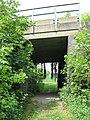 Footpath under the railway - geograph.org.uk - 1325250.jpg