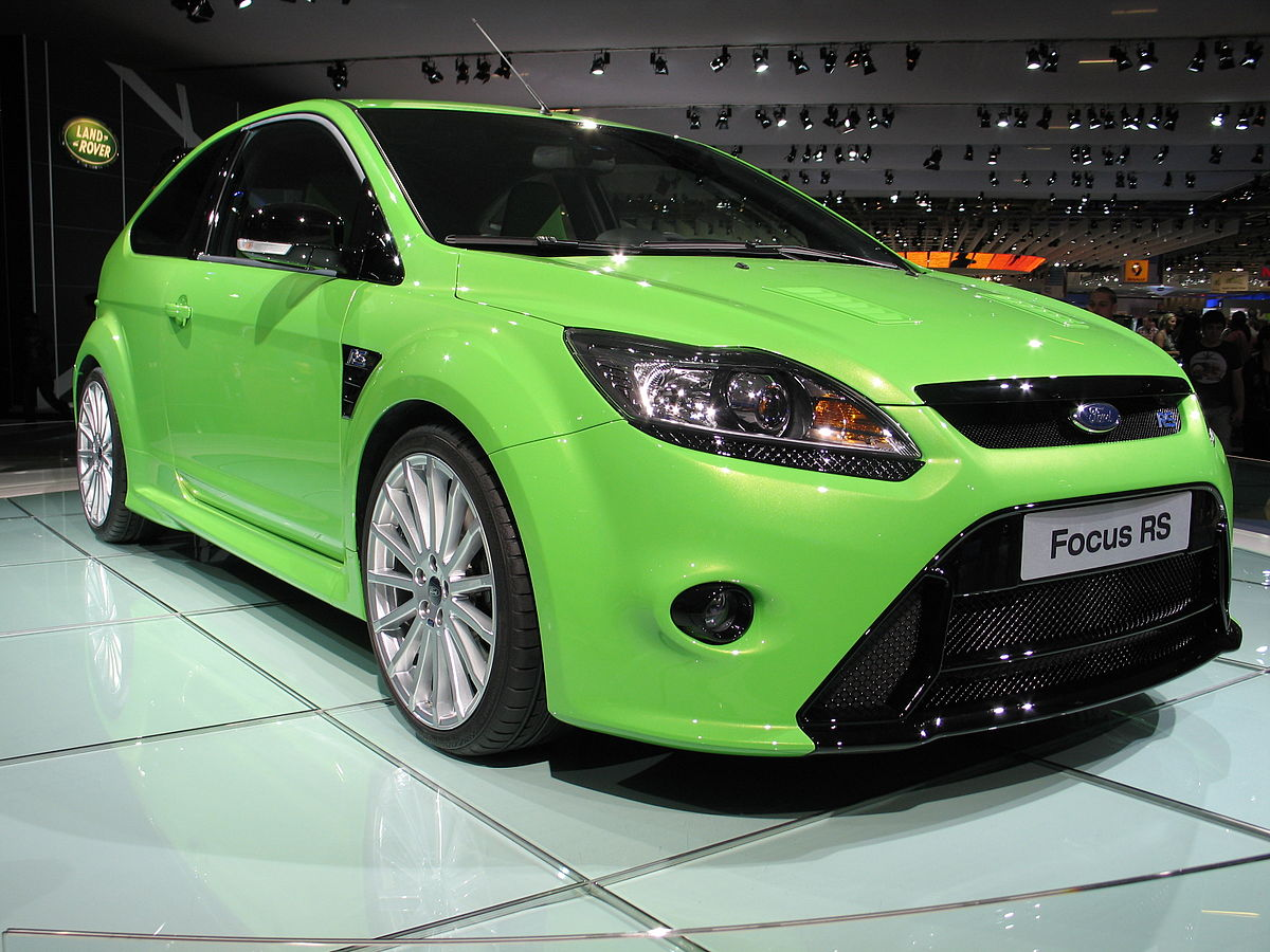 ford focus rs wikipedia wolna encyklopedia. Black Bedroom Furniture Sets. Home Design Ideas