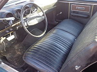 Ford Ranchero GT 1969 interior.jpg