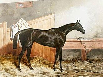 Triple Crown of Thoroughbred Racing - Formosa, Triple Crown Winner of 1868, by Harry Hall