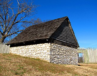 Fort Loudoun (Tennessee) - Reconstructed powder magazine