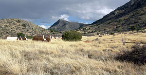 Cochise County, Arizona - Fort Bowie site near Apache Pass.