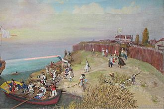 Fort Niagara - Fort Niagara 1728