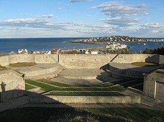 Fort Revere Park - Fort Revere Park overlooking Allerton