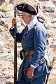 Fortress Lousbourg DSC02456 - Guard talking to a tourist (8176659985).jpg