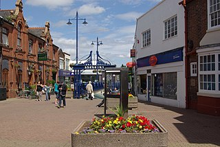 Stourbridge town in the Metropolitan Borough of Dudley, in the West Midlands of England