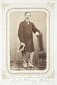 Fotografiporträtt på Theodor von Hallwyl, 1860-talet - Hallwylska museet - 107808.tif
