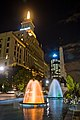 Fountains along University Avenue in Toronto - 2008 (2747320741).jpg
