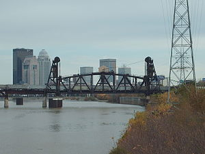 Fourteenth Street Bridge (Ohio River) - Image: Fourteenth street bridge louisville side