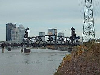 Fourteenth Street Bridge (Ohio River) - Image: Fourteenth street bridge louisville side