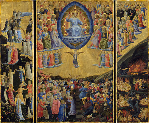 Fra Angelico - The Last Judgement (Winged Altar) - Google Art Project