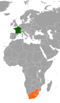 France South Africa Locator.png