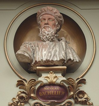 Nicolas Bachelier - Image: France Toulouse Capitole Bachelier 072007