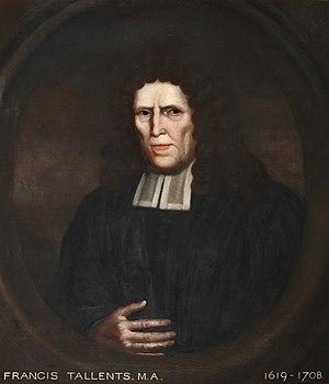 Francis Tallents - Image: Francis Tallents