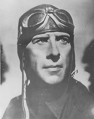 Frank Hawks - Frank Hawks studio photograph, c. 1930