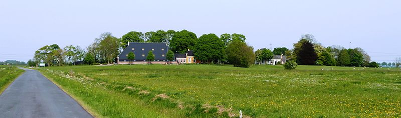 Panorama over de wierde