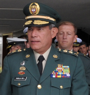 Freddy Padilla de León Colombian general and diplomat