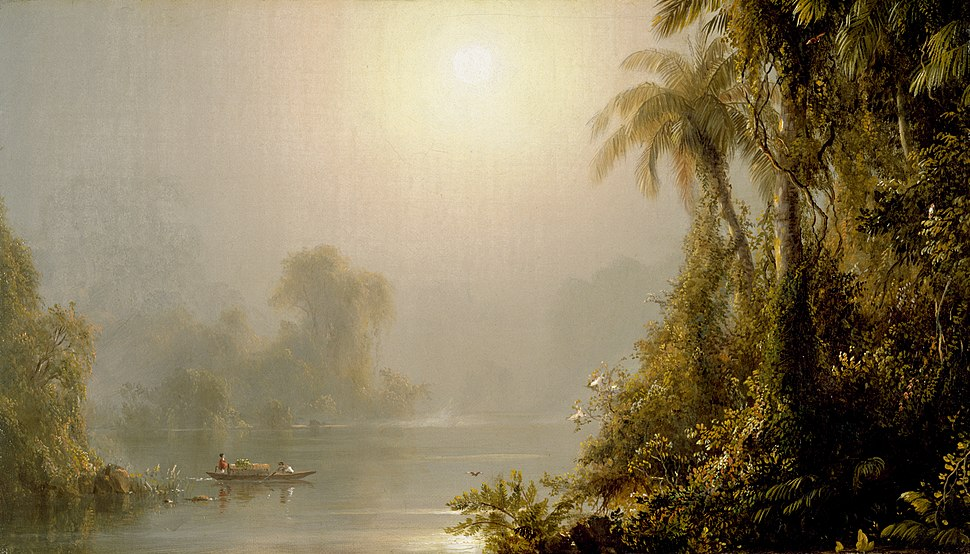 Frederick Edwin Church - Morning in the Tropics - Walters 37147