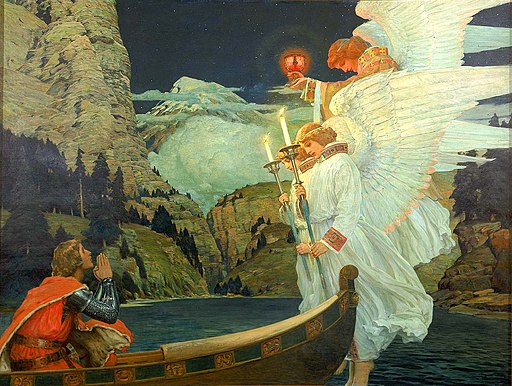 Frederick J. Waugh - The Knight of the Holy Grail - 1912.5.1 - Smithsonian American Art Museum