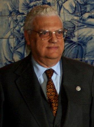 Prime Minister of Portugal - Image: Freitas do Amaral, XV Cimeira Ibero Americana Salamanca, Espanha